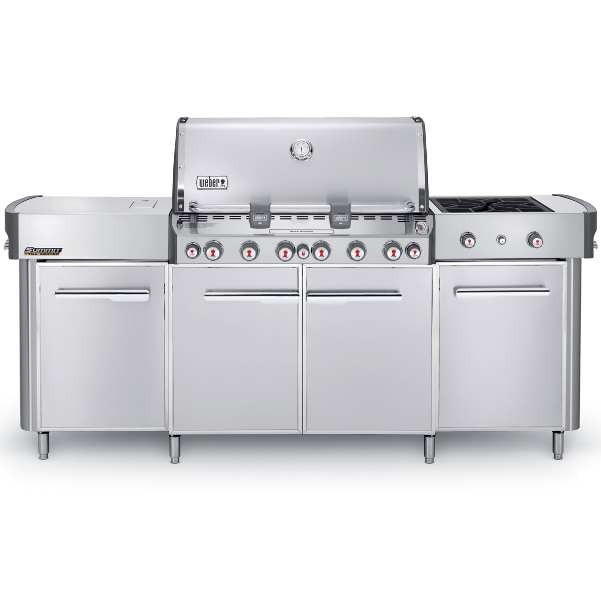 Interessant Weber Summit Grill Center - Natural Gas - 292001 | East Coast TVs DW08