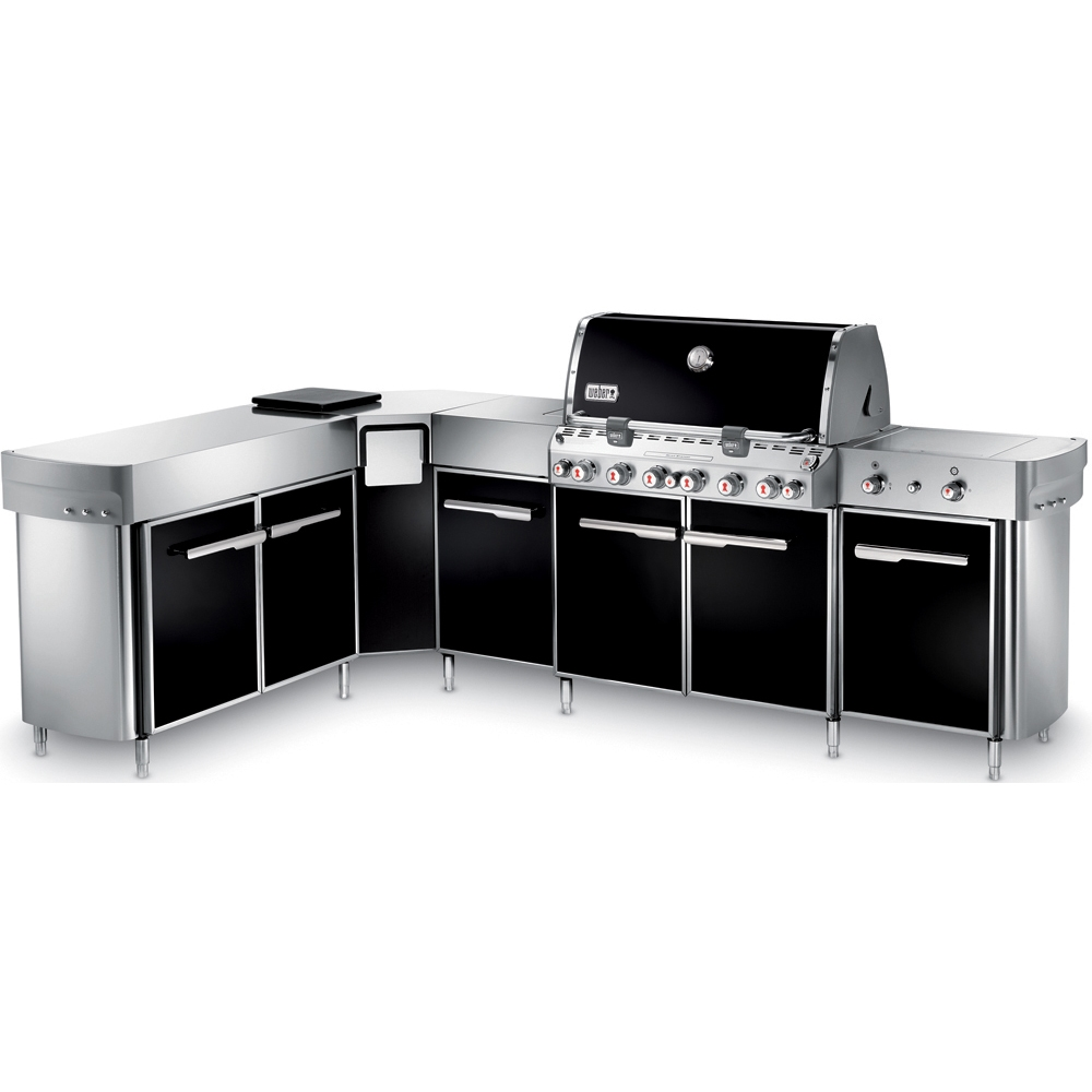 Weber Summit Grill Center with Left-Hand Social Area - Liquid Propane - 297101