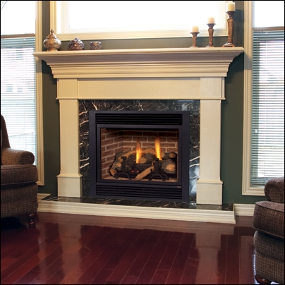 """Majestic 33"""" R / T Convertible Direct Vent Fireplace - 300DVBHPSC7"""