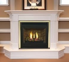 "Majestic 33"" Rear/Top Convertible Clean Face Direct Vent Fireplace Millivolt Ignition Natural Gas - 33CFDVNVSL"