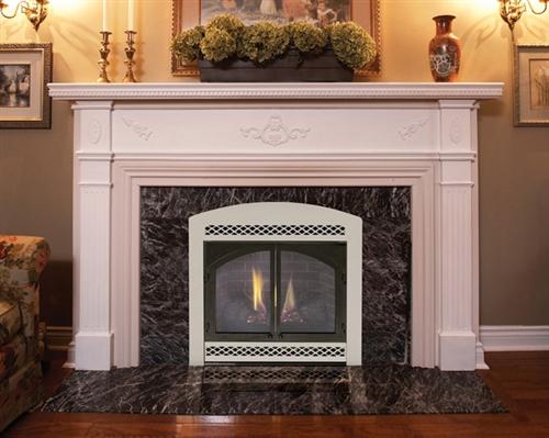 "Majestic 42"" Direct Vent Natural Gas Fireplace - 500DVBNSC7"