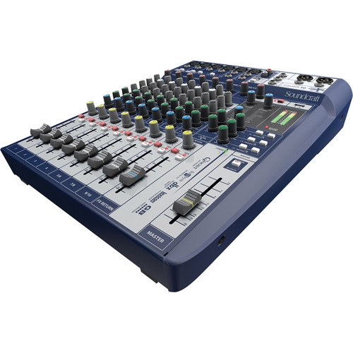 Soundcraft Signature 10 10-Input Mixer with Effects - 5049551