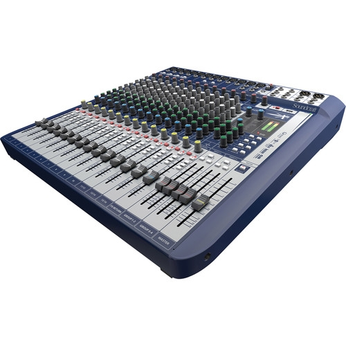Soundcraft Signature 16 16-Input Mixer with Effects - 5049559