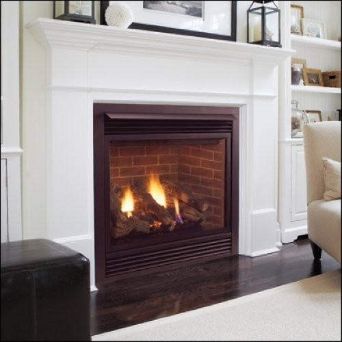 Majestic 47 Inch R/T Vent Convertible DV Fireplace Signature Command Control Propane Gas - 600MDVPPSC