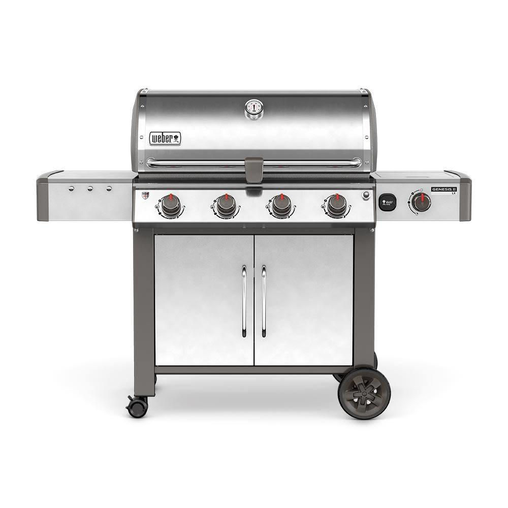 Weber Genesis II LX S-440 Natural Gas Stainless Steel - 67004001