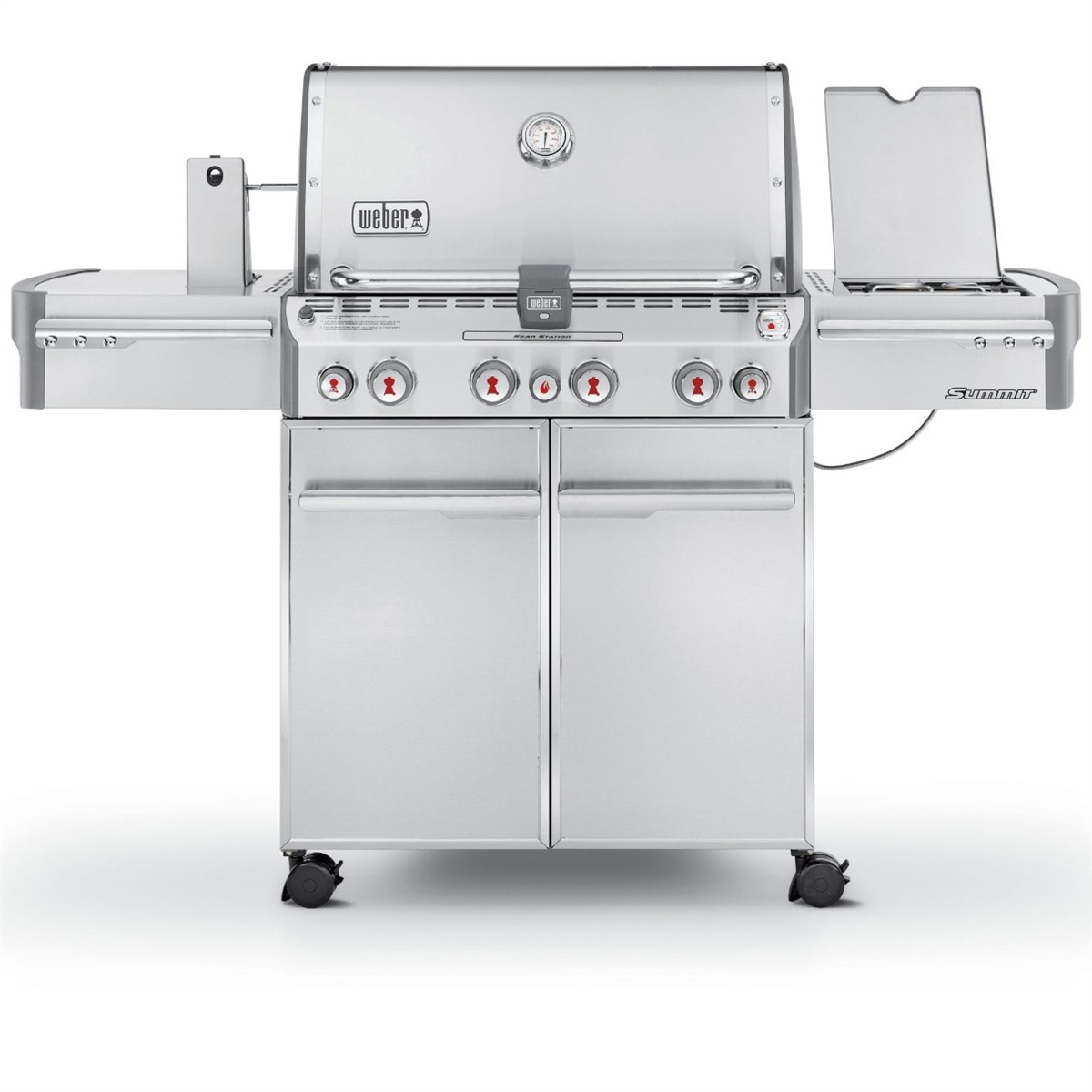 Weber Summit S-470 Grill - Liquid Propane - 7170001