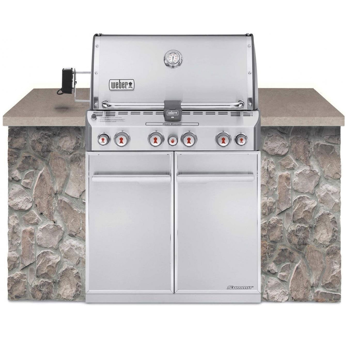Weber Summit S-460 Grill - Natural Gas - 7260001