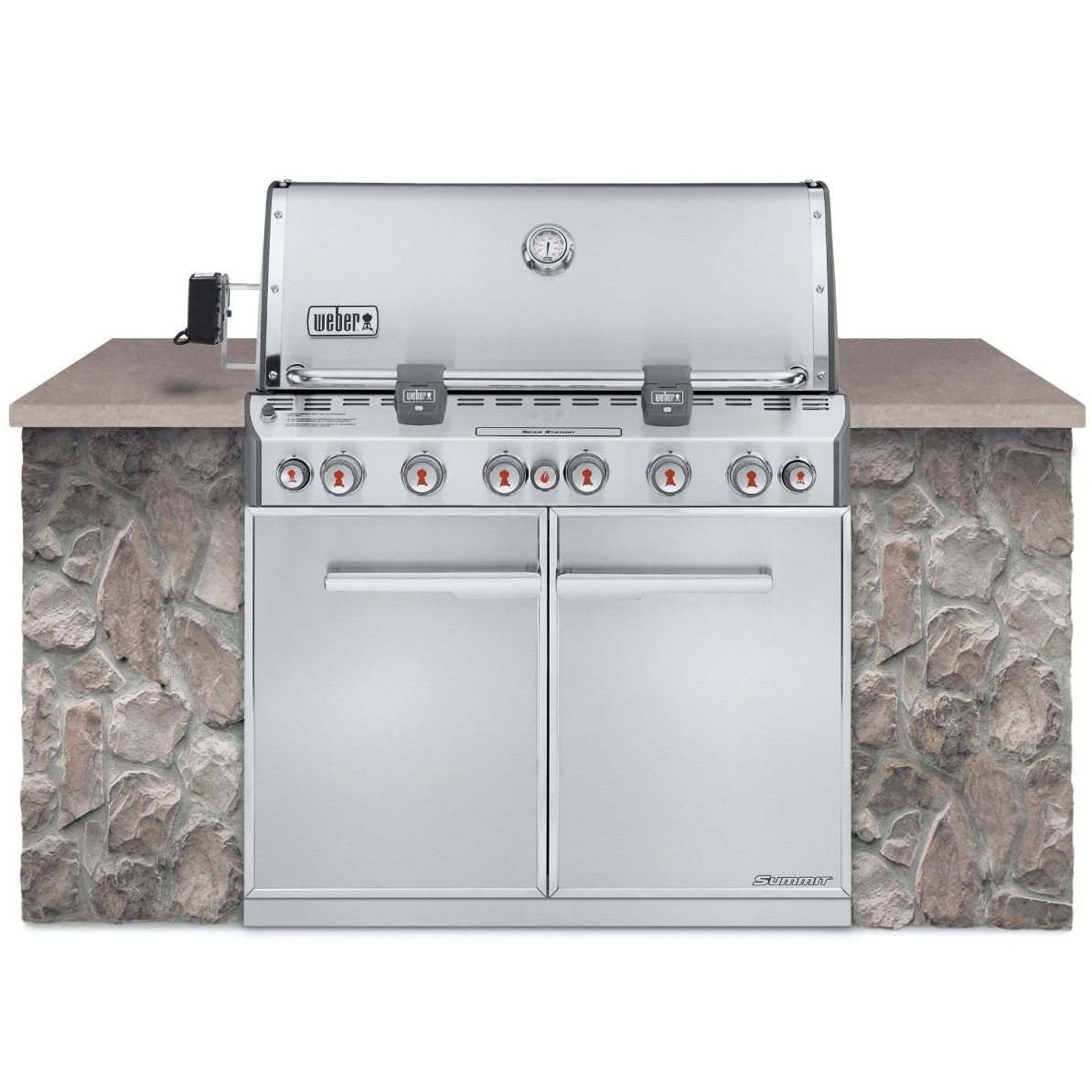 Weber Summit S-660 Grill - Liquid Propane - 7360001