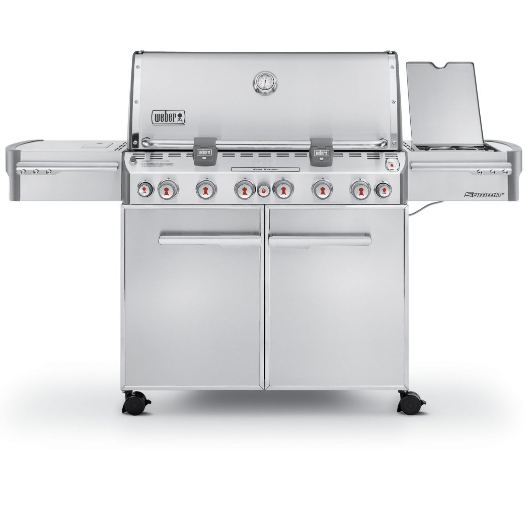 Weber Summit S-670 Grill - Liquid Propane - 7370001