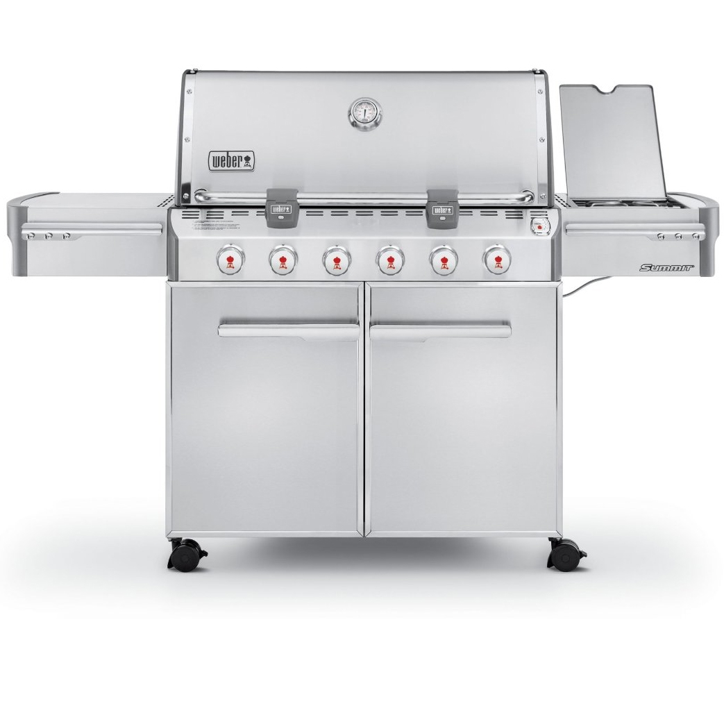 Weber Summit S-620 Grill - Natural Gas - 7420001