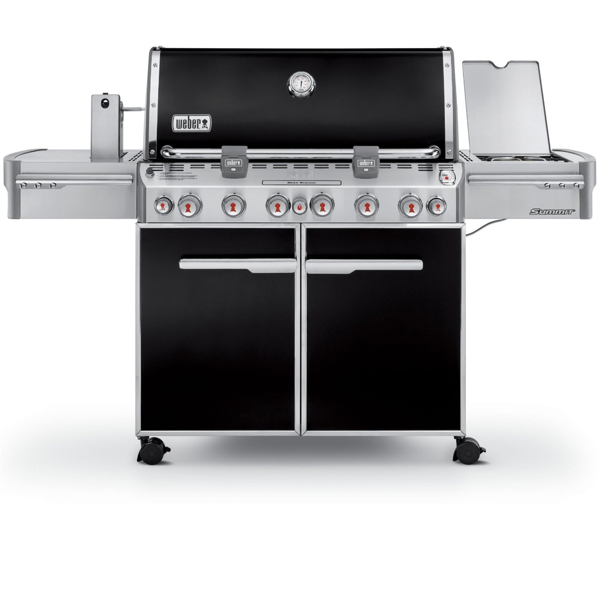 Weber Summit E-670 Grill - Natural Gas - 7471001
