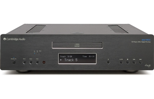 Audio Single disc CD player/DAC/digital preamp Black - 779851CB