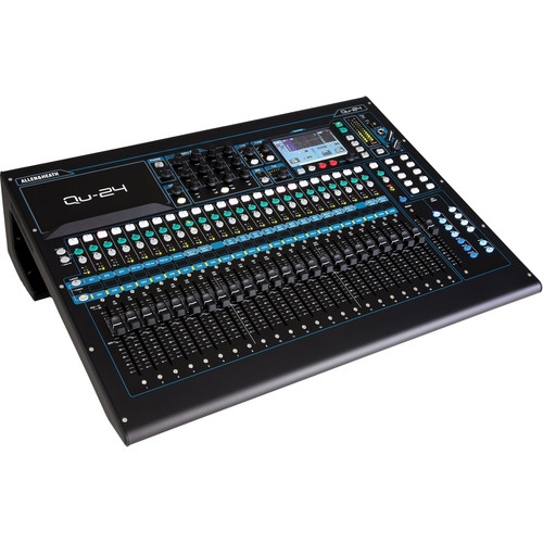 Allen & Heath 30-In/24-Out Digital Mixer - AH-QU-24