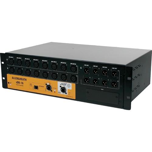 Allen & Heath 16-Input/8-Output Expander - AH-XDR-16