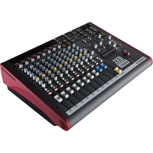 Allen & Heath 2x 500W Powered Mixer - AH-ZED-P1000