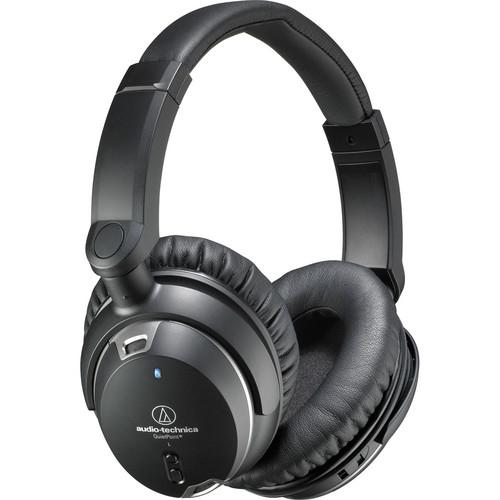 Audio-Technica QuietPoint Active Noise-Cancelling Headphones - ATH-ANC9