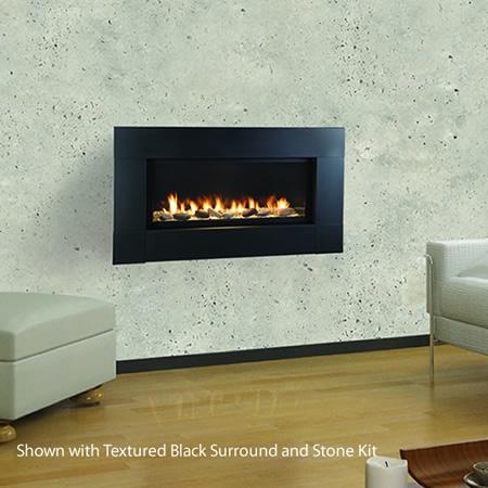"""Monessen Artisan 42"""" Linear Vent Free Fireplace AVFL42PTSC"""