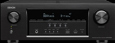Denon AVR S720W 7.2 Channel AV Network Receiver Wi-Fi Black - AVR-S720W