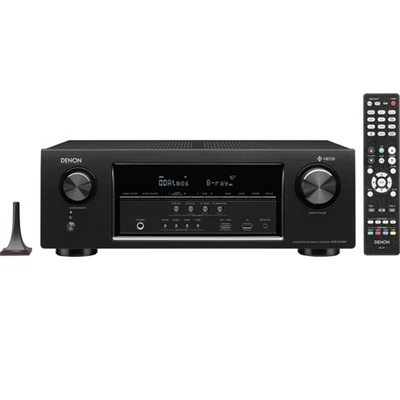 Denon 7.2-Channel Network A/V Receiver - AVR-S730H
