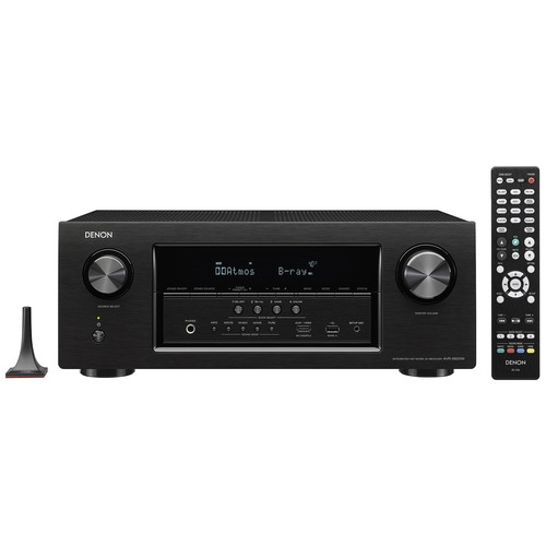Denon 7.2-Channel Network A/V Receiver - AVR-S920