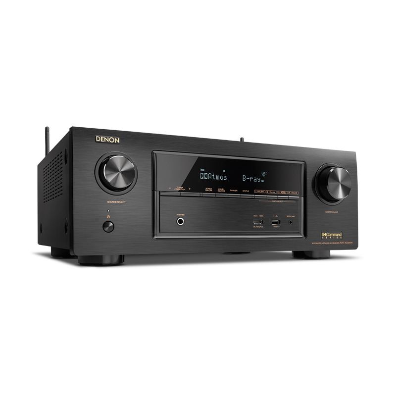 Denon 7.2 Chan and Wi-Fi - AVRX3300  Full 4K Ultra HD A/V Receiver with Bluetooth