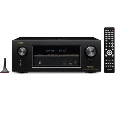 Denon 7.2-Channel Network A/V Receiver - AVR-X3300W