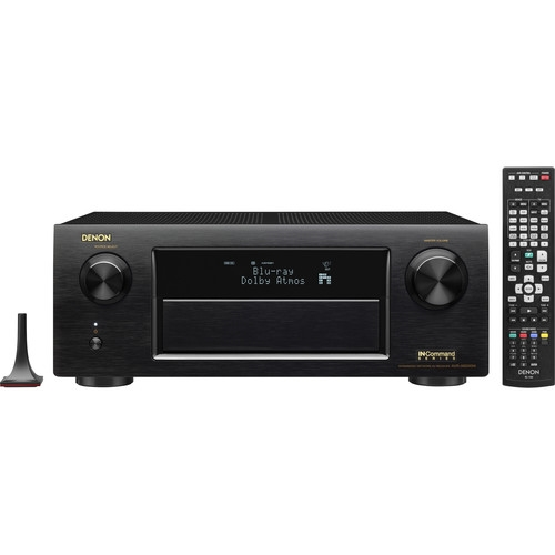 Denon IN-Command 9.2-Channel Network A/V Receiver - AVR-X6200W