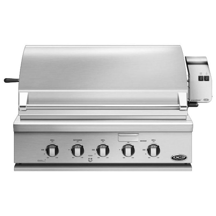 DCS 36 inch Built-in Gas Grill - Natural Gas - BGC36-BQAR-N