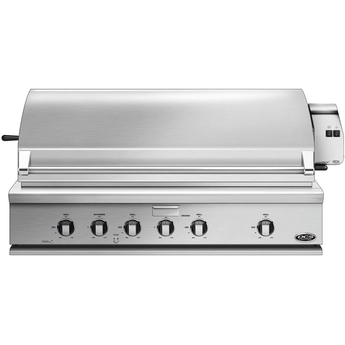 DCS 48 inch Built-in Gas Grill - Natural Gas - BGC48-BQAR-N