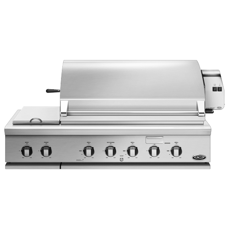 DCS 48 inch Built-in Gas Grill - Natural Gas - BGC48-BQR-N