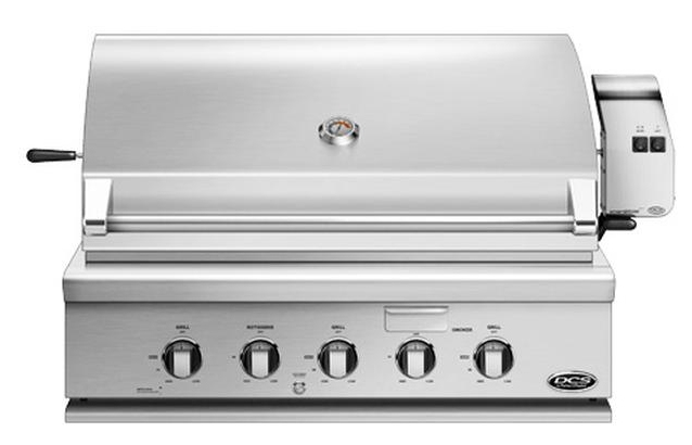 "DCS 36"" Stainless Steel Traditional Built-In Natural Gas Grill With Rotisserie - BH1-36R-N"