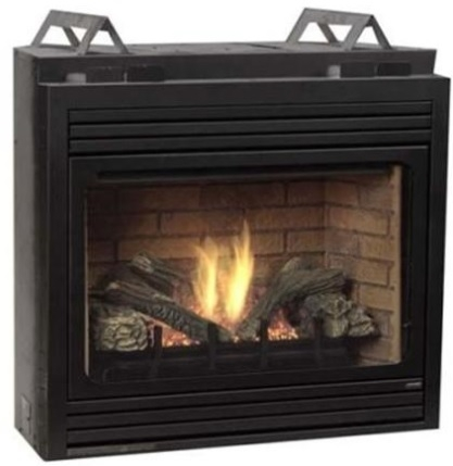 "Majestic Belmont Series 33"" Direct Vent Liquid Propane Fireplace - BLDV300PSC7"