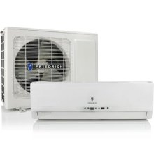 Friedrich Breeze Wall-Mount Ductless Split Air Conditioner + Electric Heater - BR0412W1A