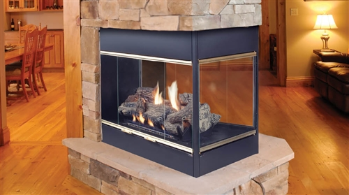 "Majestic 42"" Prodigy Series B-Vent Natural Gas Fireplace - BVSTNSC"