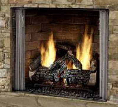 Majestic Outdoor unit with traditional brick and IntelliFire Plus Ignition (NG) - CARODG42I-B