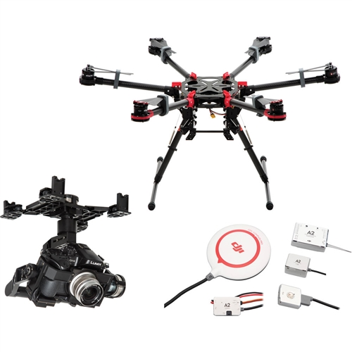 Spreading Wings S900 with Z15 GH4 HD Gimbal - CB.SB.000017