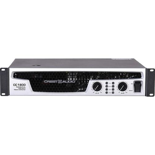 Crest Audio Power Amplifier -  CC-1800