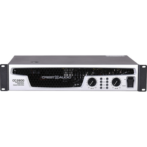 Crest Audio Professional Power Amplifier 2800W 2RU - CC2800