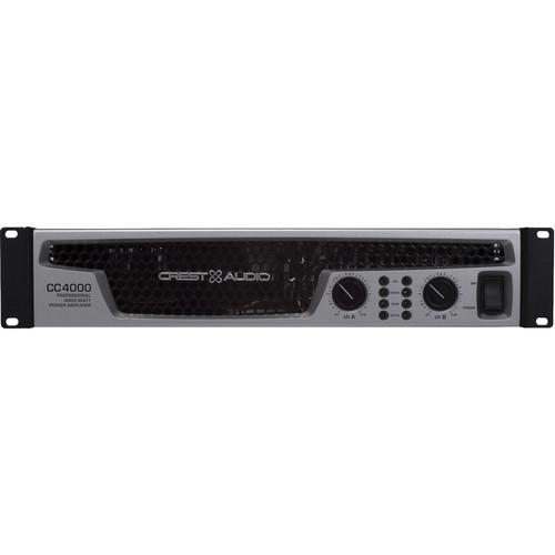 Crest Audio Professional Power Amplifier 4000W 2RU - CC4000