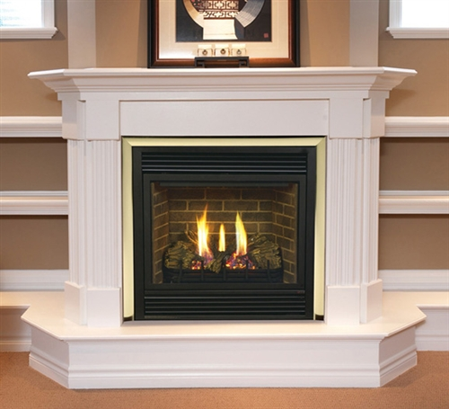 """Majestic 47"""" Direct Rear Vent Natural Gas Fireplace - CDVR47NSC7"""