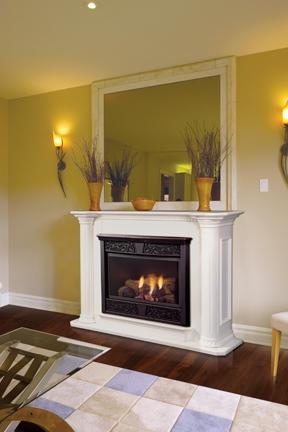 """Majestic Chesapeake 24"""" Vent Free Natural Gas Fireplace - CFX24NVU"""
