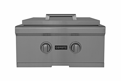 "Coyote 24"" Natural Gas Power Burner with Premium Stainless - CPBNG"