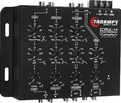 Taramps four way electronic crossover - CRX4