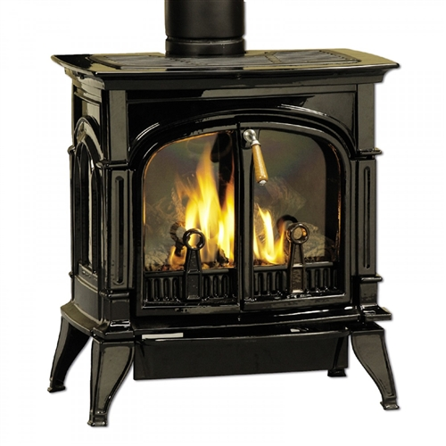 Majestic Concorde Natural Gas Direct Vent Gas Stove - CSDV30SNVEMBCSB
