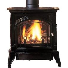 Majestic Concorde Single Door Cast Iron Direct Vent Stove - CSDV30SNVEMBSL