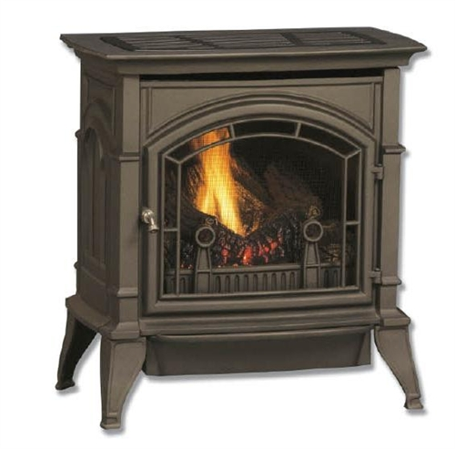 Majestic Concorde Natural Gas Direct Vent Gas Stove - CSDV30SNVGCSB