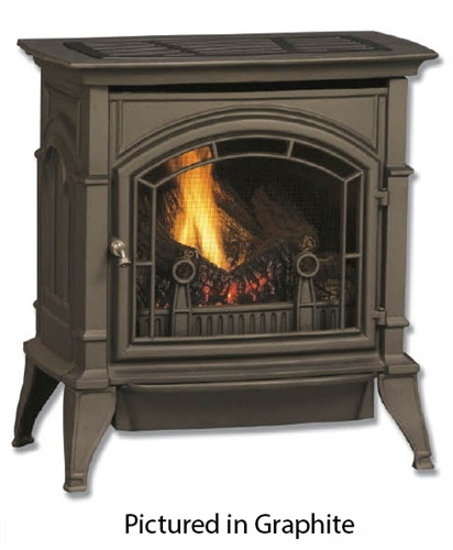 """Majestic 30"""" Vent Free Natural Gas Stove with Full Yellow Flames - CSVF30SNVG"""