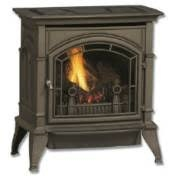 Majestic Cast 30 Medium Stove Single Door Enamel Brown - CSVF30SPVEMB