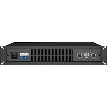 QSC 700W 8 ohms (CX502 pictured) 2 Channel Power Amplifier - CX1102