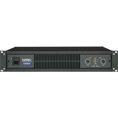 QSC 2 Channel Direct Output Power Amplifier (70V) - CX-302-V